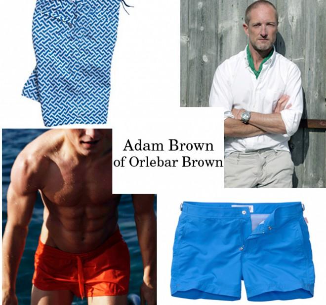 Adam Brown of Orlebar Brown