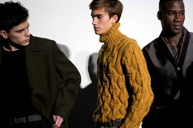 Hermes Men's Collection Fall 2011. Photo: Hermes