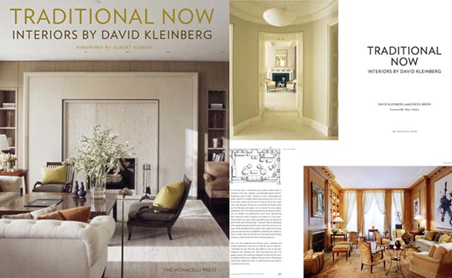Exclusive Book Preview Traditional Now Interiors By David