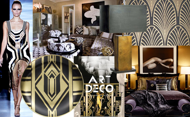 Inspiration Board Of The Week Art Deco Style Intel