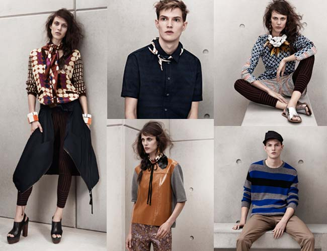 Marni for H&M Collection. Photo courtesy of H&M