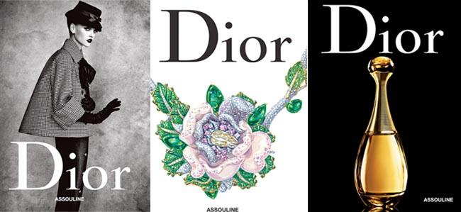 Assouline's three-volume Dior book