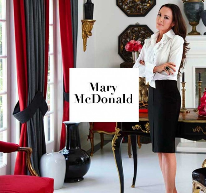 The sought-after decorator Mary McDonald