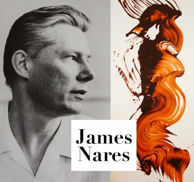 James Nares (by Ralph Gibson) and Nares' Epigraph 5. Photos courtesy of Durham Press