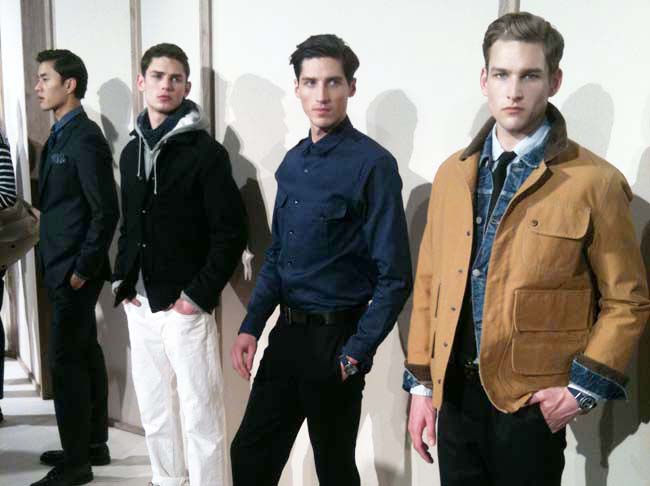 J Crew men's fall 2012. Photo via Style Intel